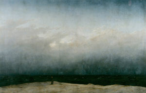 Caspar David Friedrich Der Monch am Meer